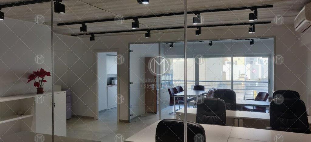 Fully Furnished 72m2 Office Space in an Mriehel Business Centre