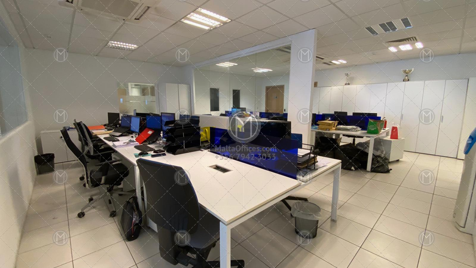 Penthouse Office for Rent in San Gwann (1,200m2)