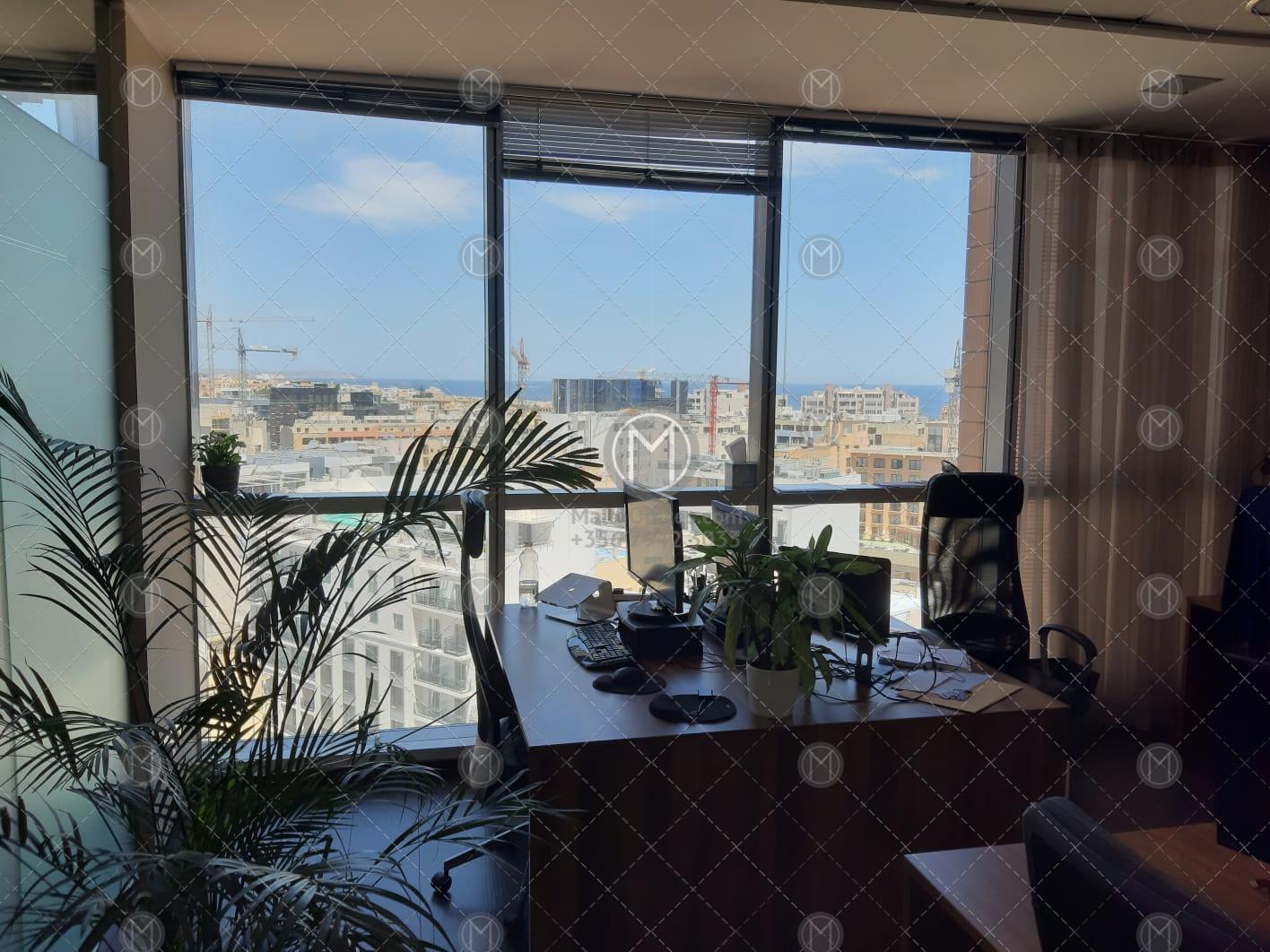 Portomaso Office Space for Rent (300m2)