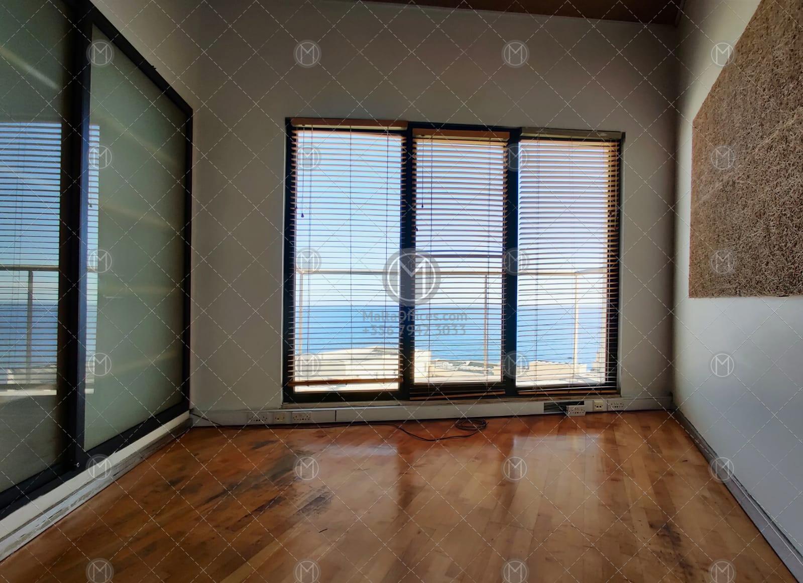 Portomaso Office for Rent (114m2)