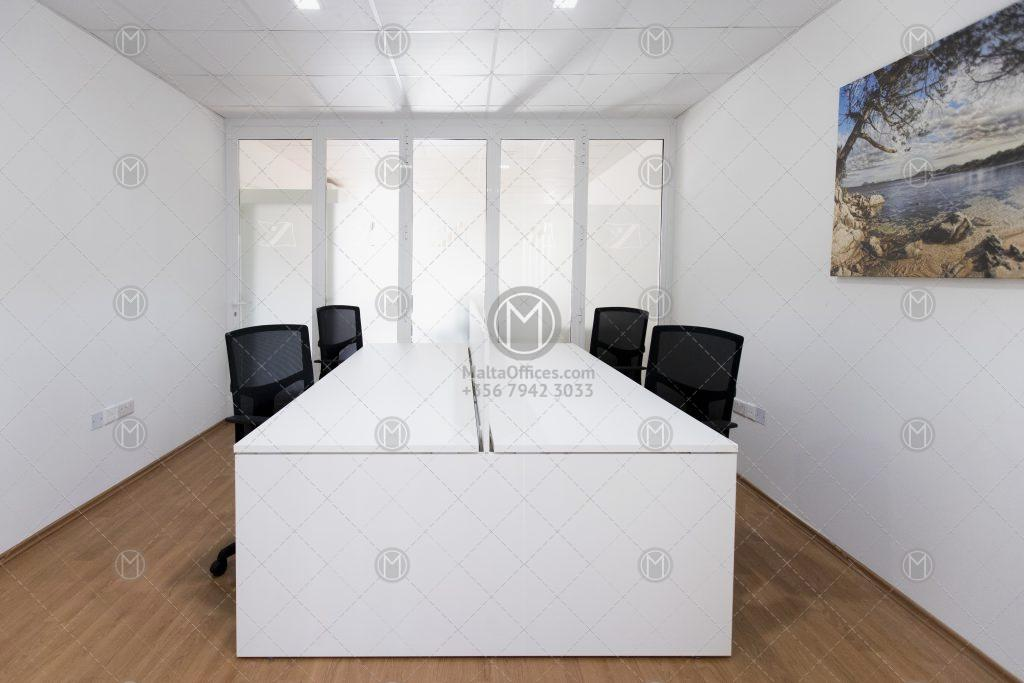 Furnished Seafront Office at Pieta Marina - (1)