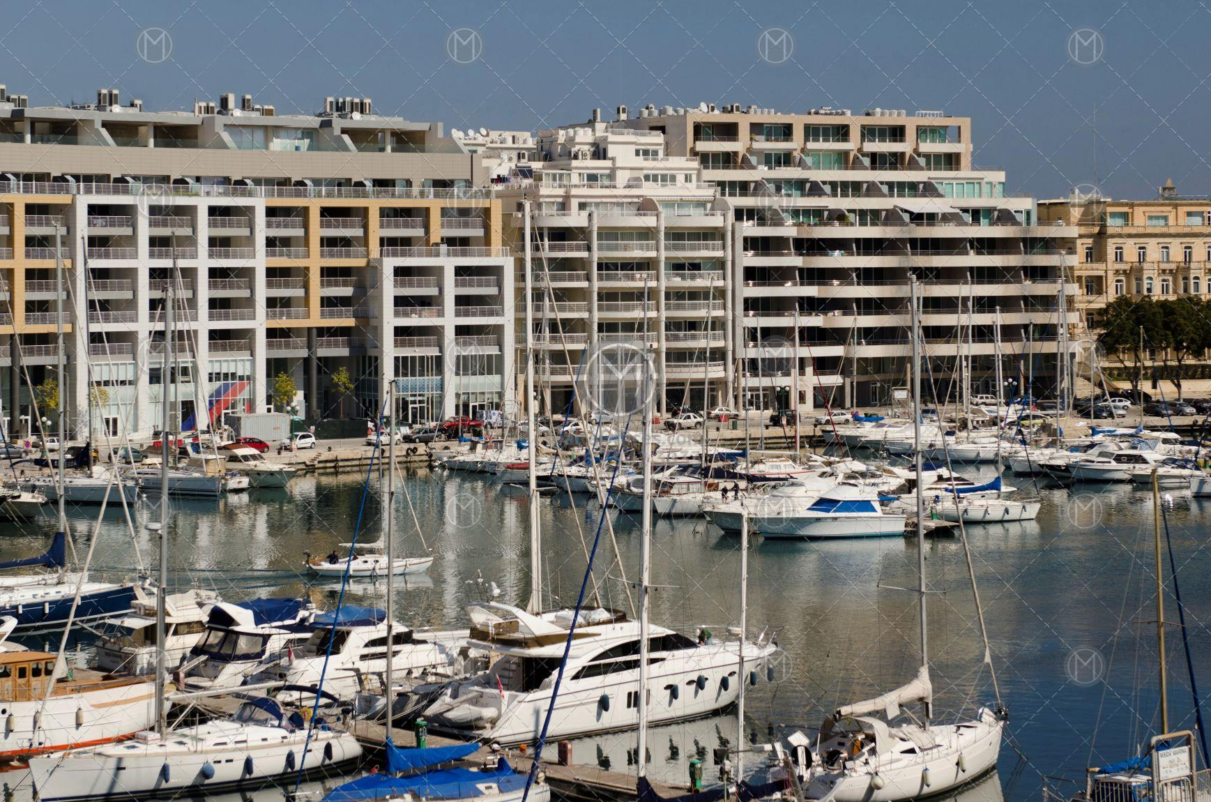 Seafront Office For Rent at Msida Marina