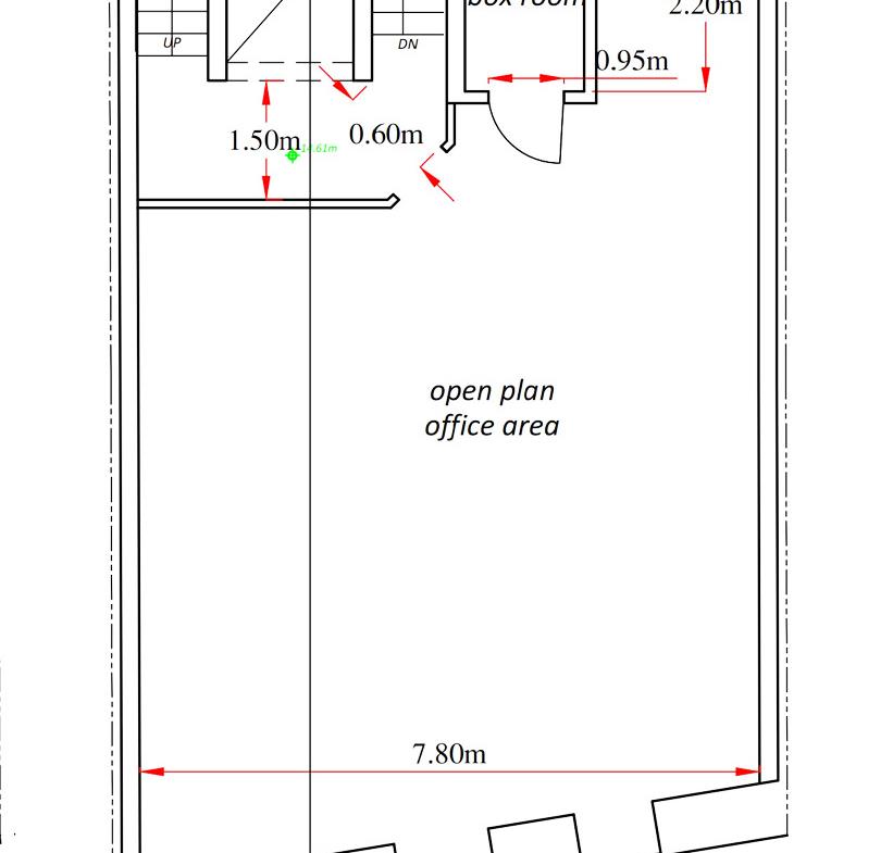 Sliema Office Building for Rent - 4th-Floor-Plans