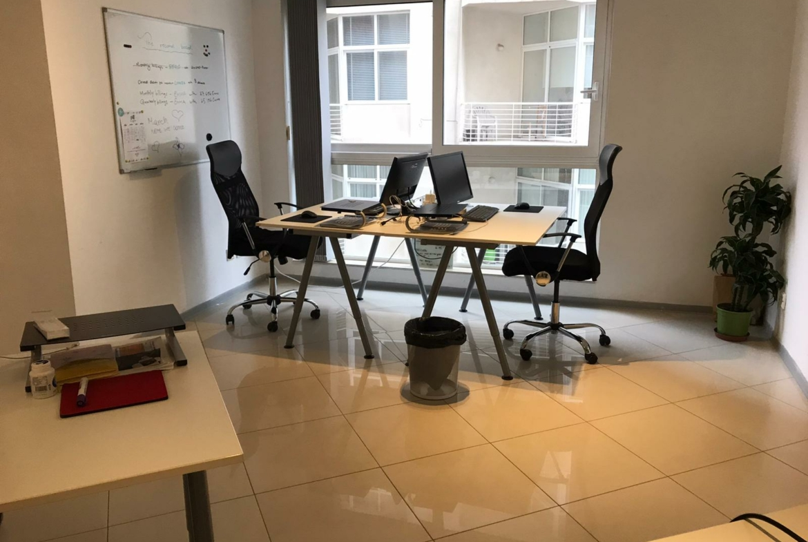 Small Furnished Office in Sliema Plans