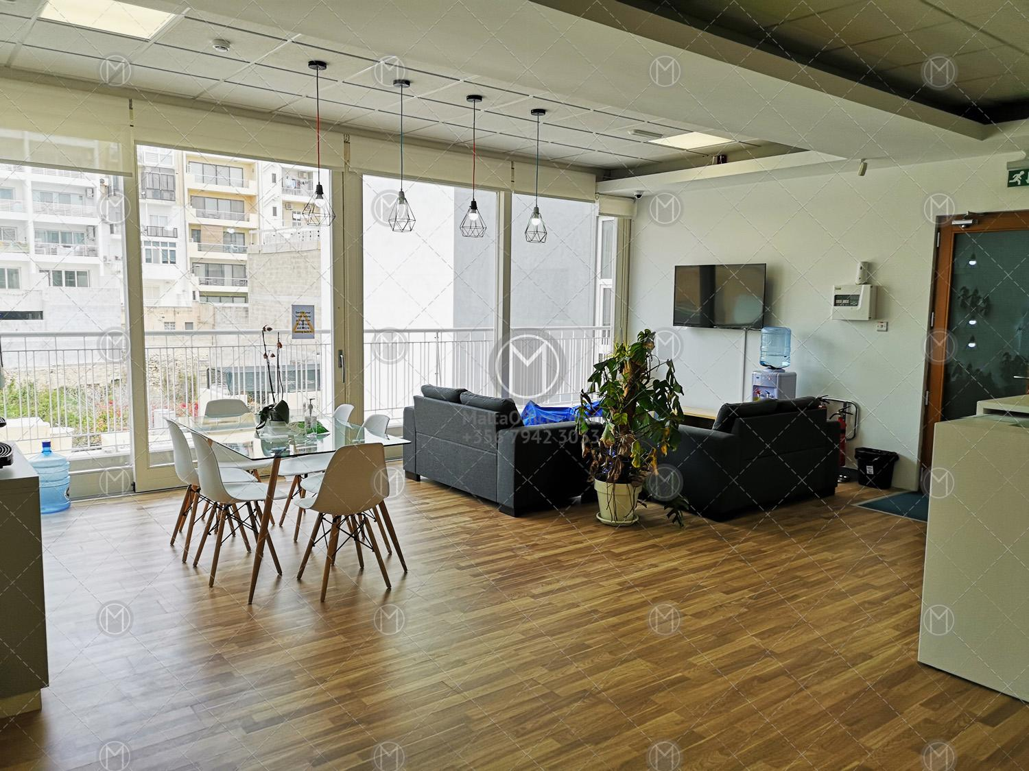 Furnished Office in Sliema for lease - Maltaoffices.com