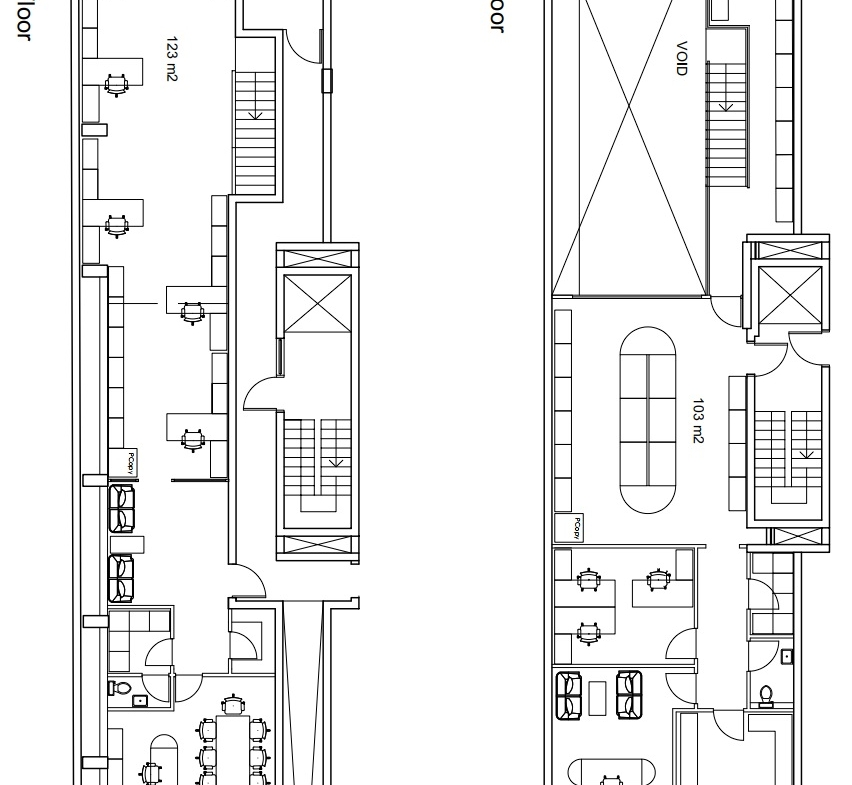 Office for Rent in Spinola Saint Julians Plans